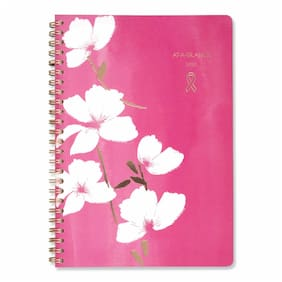 Cambridge Sorbet Weekly/Monthly Planner 8 1/2 x 6 1/4 Pink/White 2020 5151200