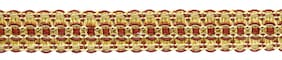 "Camel Gold, Beachwood Gold, Dark Rust 1"" Tassel Fringe Trim Golden Harvest[18 Ya"