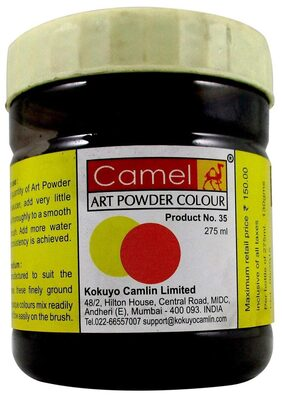 Camel Powder Colour 275ml Black (016)