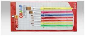 Camlin Champ Brush Set - Pack of 7 (Multicolor)