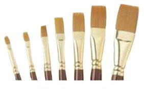 Camlin Series 67 Flat Paint Brush