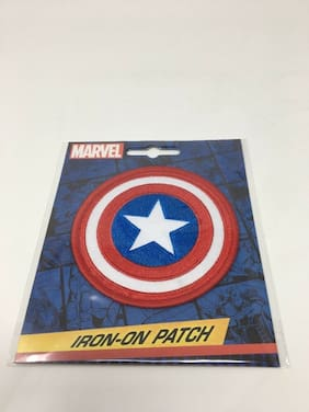 Captain America Iron On Patch Red