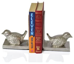 Casa Decor Birdie Jolt Unique Bookends for Office Decor, Book Shelf, Living Room, Home Decor