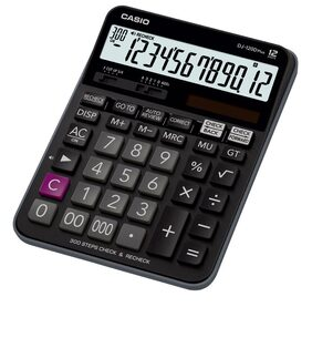 Casio DJ-120DPLUS Desktop - C & C Calculator (12 Digits)