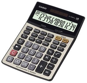 Casio DJ-240DPLUS Desktop Basic Calculator (14 Digits)