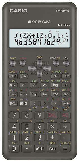 Casio FX-100MS-2nd Edition Scientific Calculator