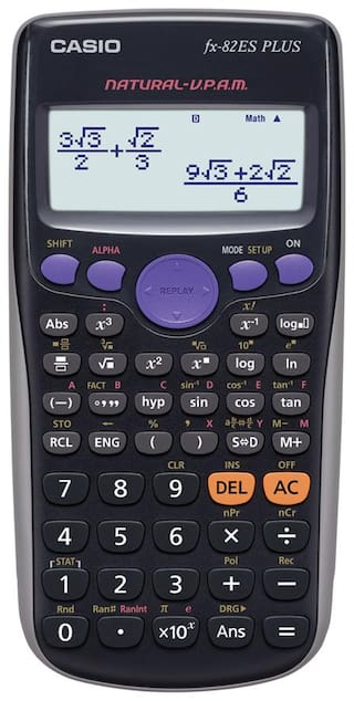 Casio FX-82ES Plus Scientific Calculator (12 Digits)