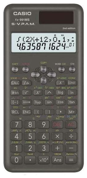 Casio FX-991MS-2nd Edition Scientific Calculator