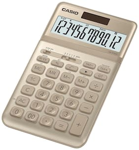 Casio JW-200SC-GD Desktop - Std Calculator (12 Digits)
