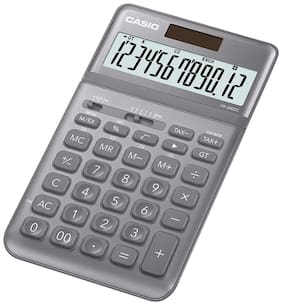 Casio JW-200SC-GY Desktop - Std Calculator (12 Digits)