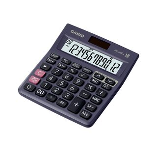 Casio MJ-120DA Desktop Basic Calculator (12 Digits)