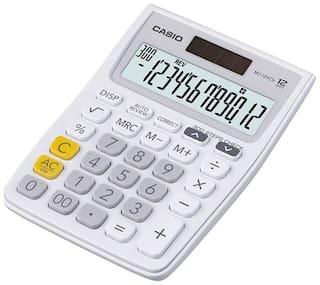 Casio MJ-12VCB-WE Desktop - C & C Calculator (12 Digits)