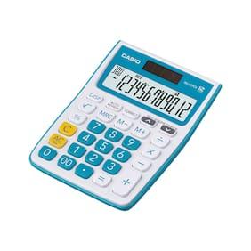 Casio MJ-12VCB-BU Desktop - C & C Calculator (12 Digits)