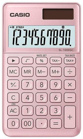 Casio SL-1000SC-PK Portable Calculator (10 Digits)
