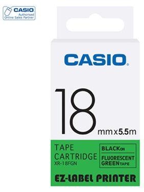 Casio Xr-18fgn Label Maker Tape