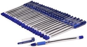 Cello Fine Grip Ball Pens (Blue, Pack Of 15)