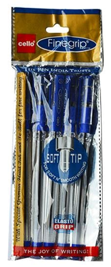 Cello Finegrip Ballpen - Blue (Pack of 20)