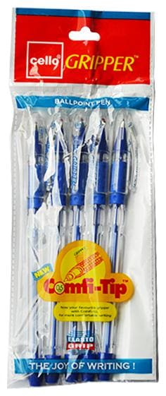 Cello MP10P3633 Ball Pen ( Blue , Set of 10 )