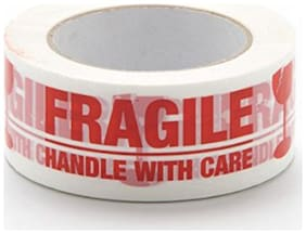 Cello Tape Handle With Care 48mm 65 m (Pack Of 2)