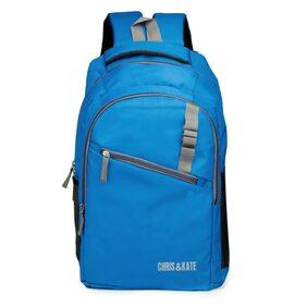 Chris & Kate Polyester Blue School Bag (28 Litres) (CKB_115RB)