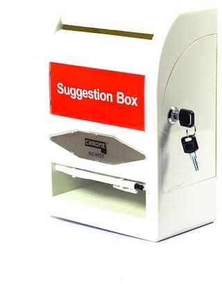 Chrome 9125 - Suggestion Box(Pack of 1)