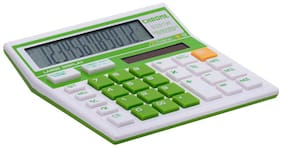 Chrome 9231WB Blister Check & Correct Basic Calculator Green(12 Digit)