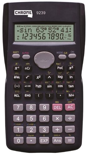Chrome 9239 - CC-82MS Scientific Calculator (12 Digit)
