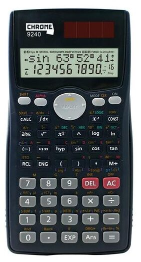 Chrome 9240 - CC-991MS  Scientific Calculator (12 Digit)