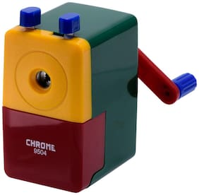 Chrome Green 9504 - Tri Colour Sharpener (Pack of 1)