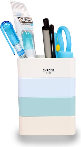 Chrome Pen Stand 9628