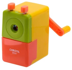 Chrome Yellow 9504 - Tri Colour Sharpener (Pack of 1)