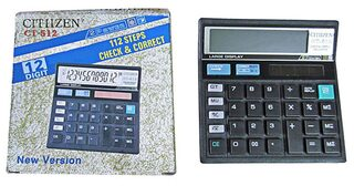 Citiizen Black Basic Calculator