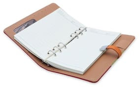 Coi Tri Colour Business Pocket Undated Planner / Diary With Pen With Free Pen & 8 Gb Pen Drive
