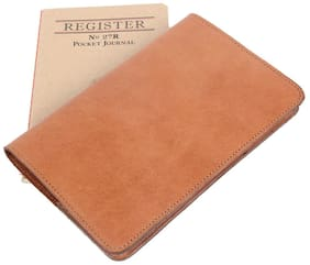 Col. Littleton Genuine Leather No.27 Pocket Journal with Archive Box | Tan