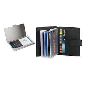Card holders buy leather visiting wallet atm business card combo leather card holder steel card holder reheart Choice Image