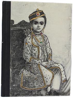 Craft Play Maharaja Print Notebook