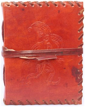 Craft Play Man On Leather Notebook