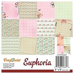 CrafTreat Paper Pack - Euphoria 6x6