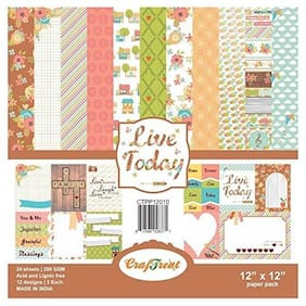 CrafTreat Paper Pack - Live Today 12x12