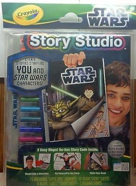 Crayola Story Studio Star Wars Create Stories Ages 6+ Fun