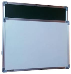 Crete Green & White Display board,Bulletin Board,Notice Board 2 x 1.5 ft (60 cm x 45 cm),Set of 2