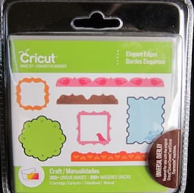 "Cricut Cartridge ""Elegant Edges"" NEW Factory Sealed Item  #2003589"