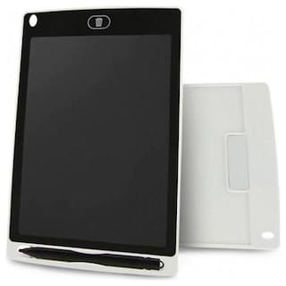 Crystal Digital LCD Writing Screen Tablet Drawing Board E-Note Pad for Kids/Adults (White)