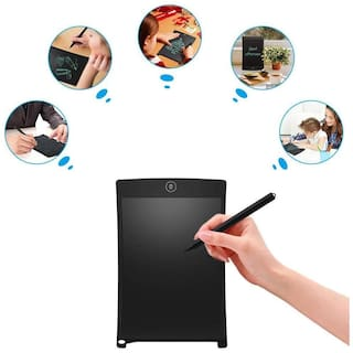 Crystal Digital Portable Handwriting Pads Ruff Pad E-Writer;8.5 inch LCD Paperless Memo Digital Tablet Notepad;Ultra-Thin Board