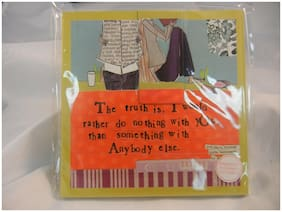 Curly Girl Designs - Demdaco - Journal with Bookmark - I Would #14584 - NEW