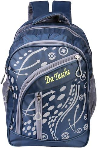 cf08509b996 Da Tasche Waterproof Arrow 30L Navy Blue School Bag Laptop Backpack College  Bag