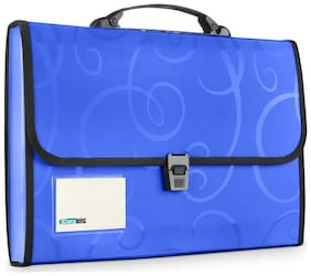 DataKing Expanding File With 13 Pocket Color :Classic Blue, Size:FC