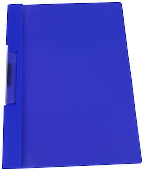 DataKing Polypropylene Clamp File With Short Clip (Set Of 5, Blue)