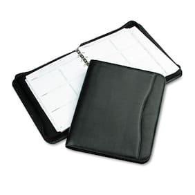 Day-Timer Avalon Simulated Leather Starter Set 8 1/2 x 11 Black 82831
