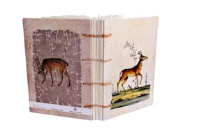 De Kulture Vintage Deer Art Journal
